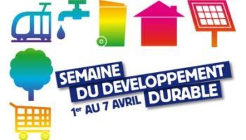 10e semaine du développement durable
