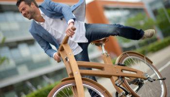 Le vélo en bois ? Oui cela existe