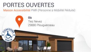 Maison en bois accessibilité. Portes ouvertes Trecobat le 27 juin à Plouguerneau