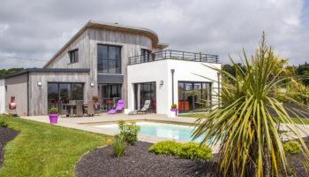 Zoom sur… Une maison bois contemporaine à haute performance thermique