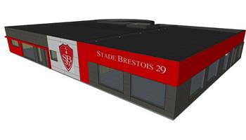 Zoom sur… Le chantier du futur Centre d'Entraînement des Professionnels du Stade Brestois 29