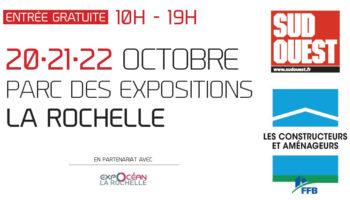 RDV au Salon de la Maison Neuve de La Rochelle !
