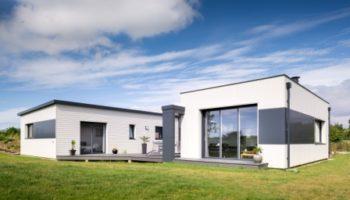 Maison bois plain pied dans le Finistère (29)