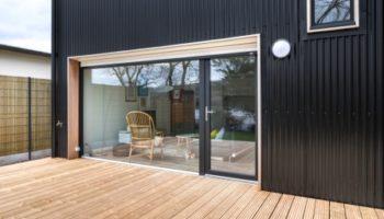 Maison bois double pente à la Forest-Landerneau (29)