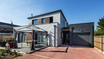 Maison bois contemporaine à Treillières (44)