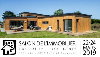 Retrouvez Trecobois au Salon de l'Immobilier de Toulouse (31) du 22 au 24 Mars 2019 !