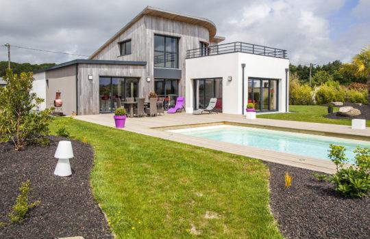 Maison en bois d'exception à Guérande en Loire-Atlantique (44)