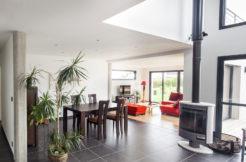 Un aménagement optimisé pour une maison spacieuse
