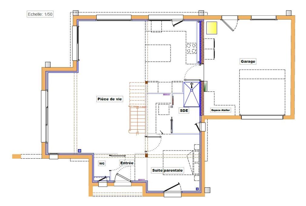 Maison bois modulaire et bicolore en Bretagne (29)   Trecobois
