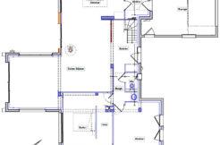 Plan maison au rez-de-chaussée