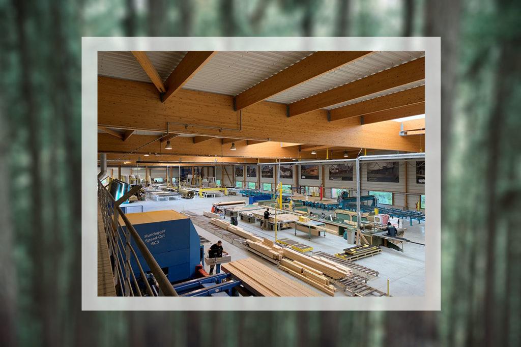 usine nature et bois à Lannilis