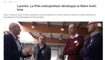 Rencontre en Pays de Brest pour renforcer la filière forêt-bois