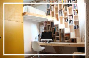 Gagnez de la place avec les meubles multifonctions !