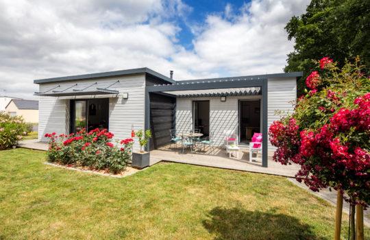 Maison bois plain-pied à Vannes dans le Morbihan (56)
