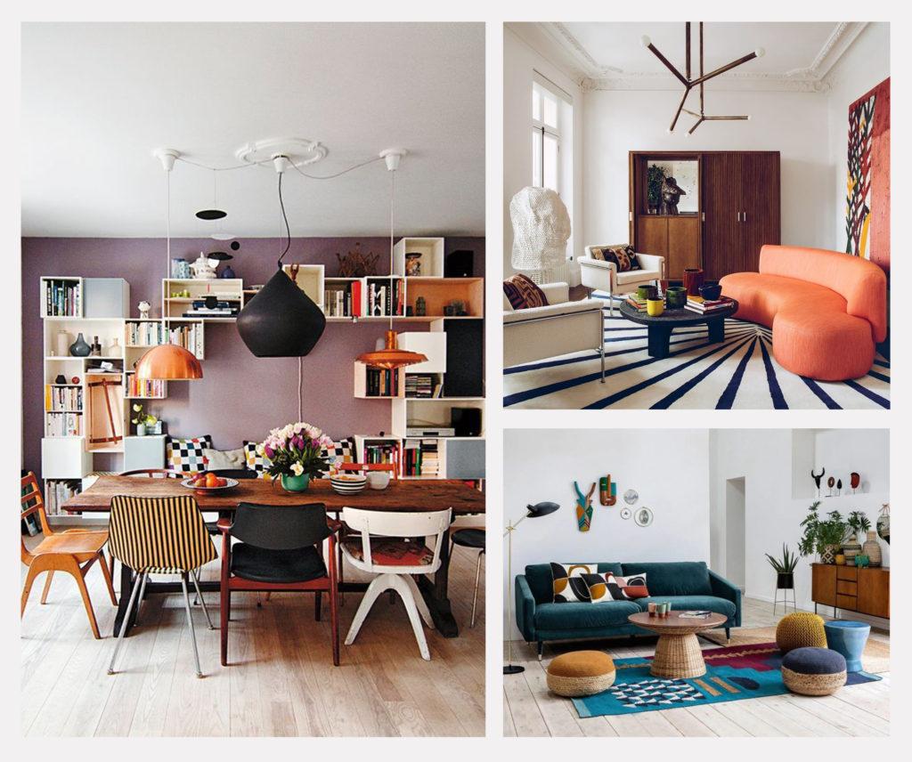 Osez le mix and match pour une décoration moderne