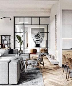 La verrière structure votre intérieur avec design