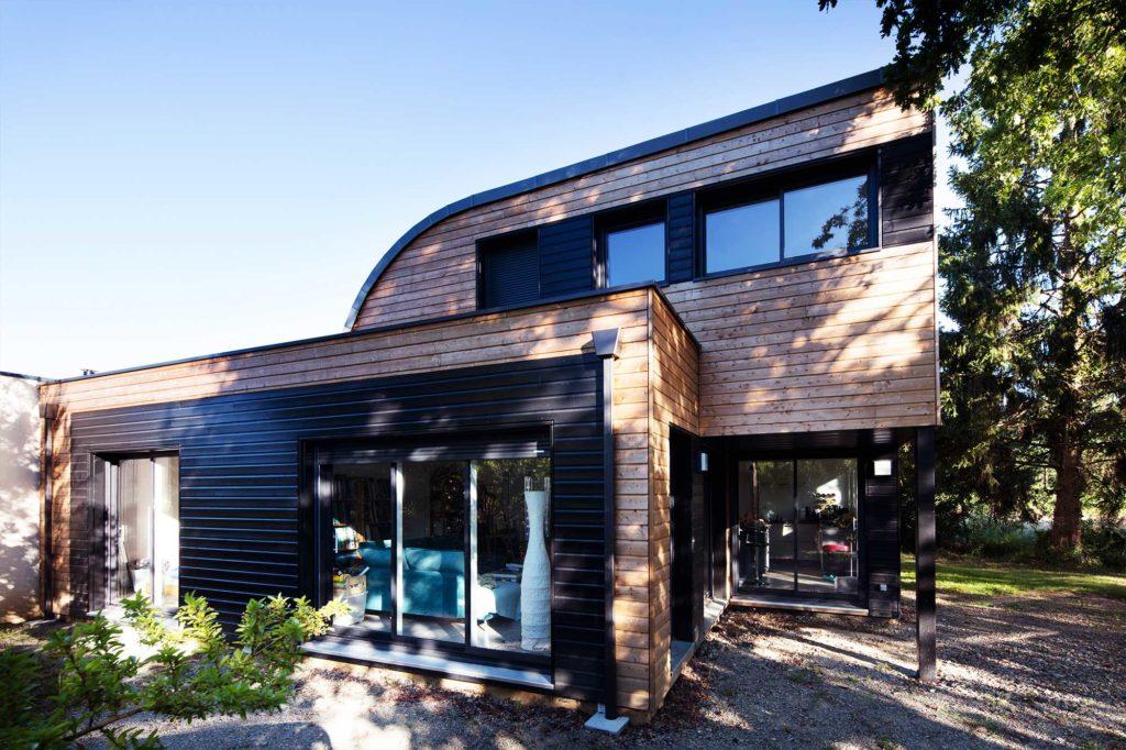Maison design ossature bois Trecobois