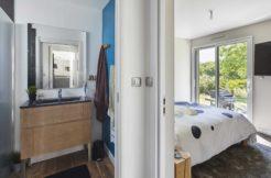 Suite parentale avec chambre, salle d'eau et dressing