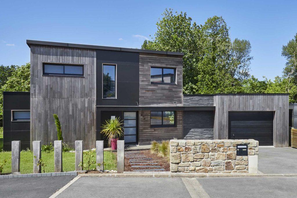 Photo d'une maison en bois Trecobois