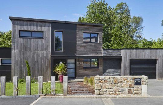 Maison en bois écologique dans le Finistère (29)