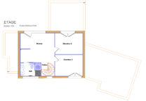 Plan de la maison - étage