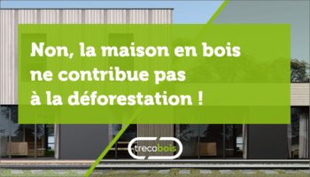 Non, la maison en bois ne contribue pas à la déforestation !