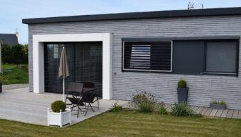Réalisation d'une maison bois plain-pied à Plouguerneau (29)