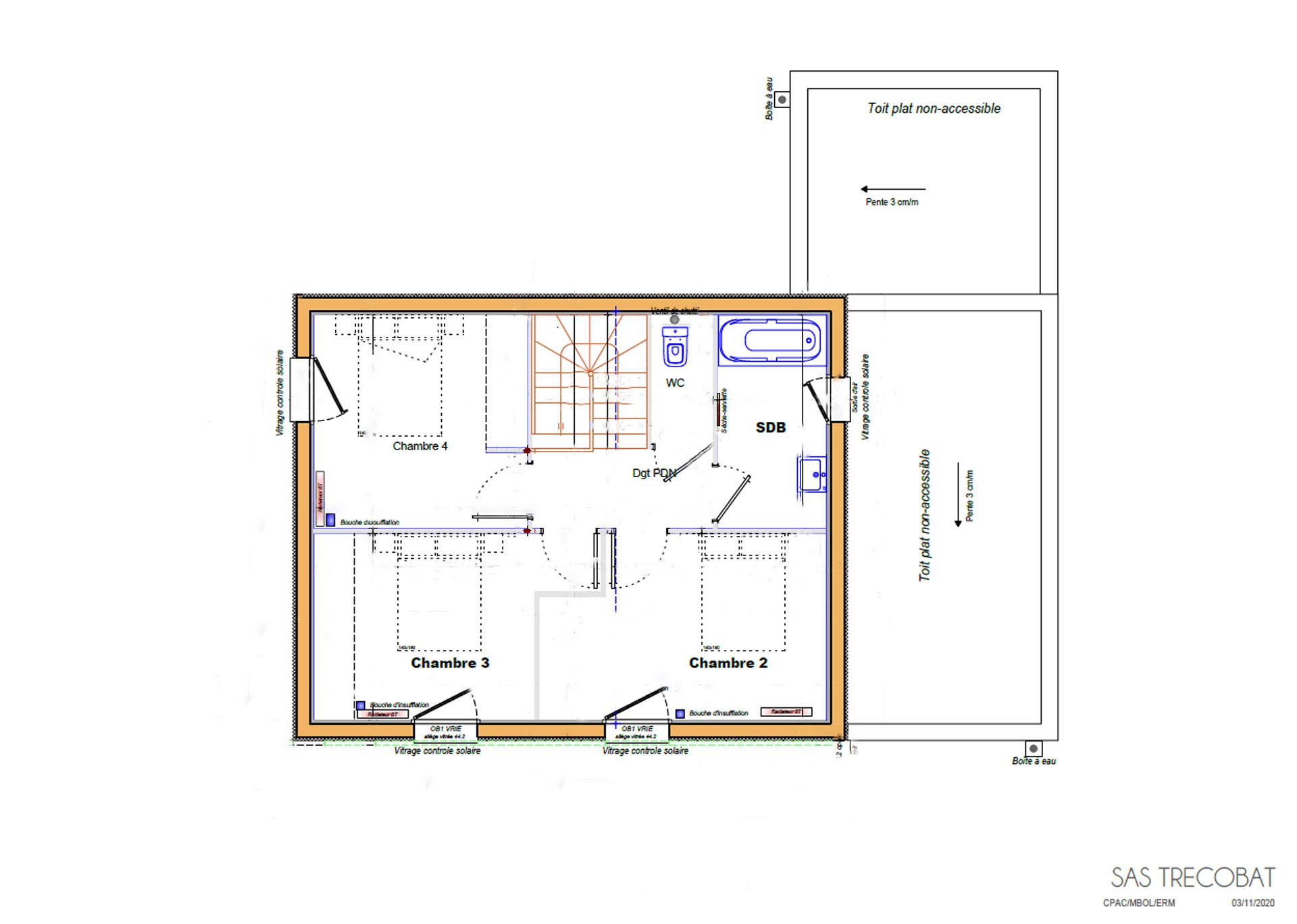 plan-étage-maison-alleio