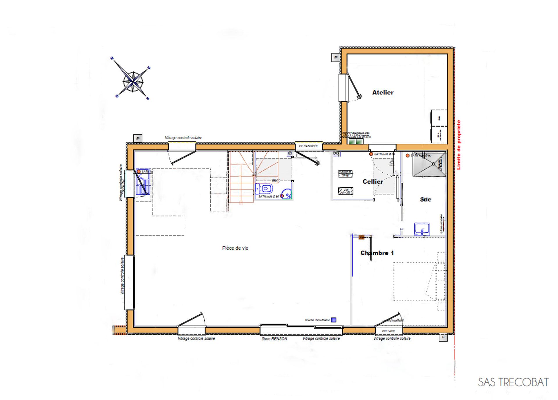plan-rdc-maison-alleio