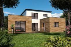 Maison+Terrain de 5 pièces avec 3 chambres à Ergué Gabéric 29500 – 278500 € - CPAS-18-12-27-36