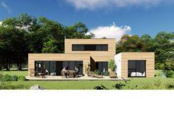 Maison+Terrain de 6 pièces avec 3 chambres à Forêt Fouesnant 29940 – 448640 € - CPAS-18-12-05-96