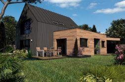 Maison+Terrain de 5 pièces avec 2 chambres à Fouesnant 29170 – 284120 € - CPAS-18-12-05-61
