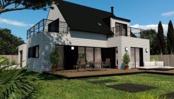 Maison+Terrain de 5 pièces avec 3 chambres à Forest Landerneau 29800 – 286000 € - CPAS-18-08-30-44