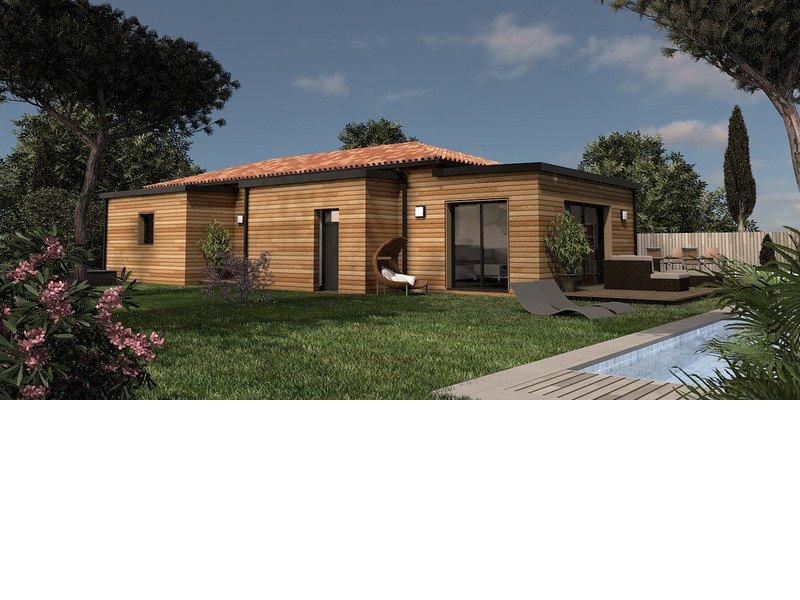 Maison+Terrain de 6 pièces avec 3 chambres à Targon 33760 – 252000 € - YFAU-19-02-08-2