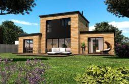 Maison+Terrain de 4 pièces avec 3 chambres à Pleugueneuc  – 248575 € - MCHO-19-07-29-56