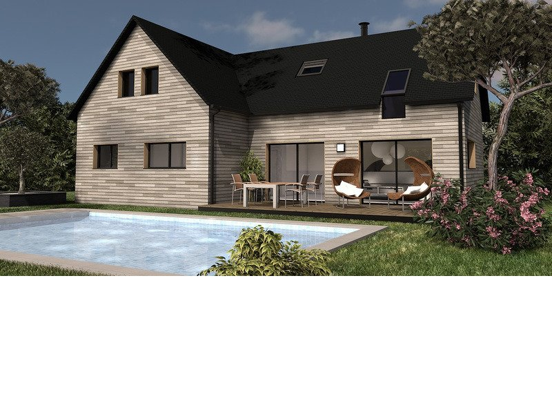 Maison+Terrain de 5 pièces avec 4 chambres à Chapelle du Lou 35360 – 276197 € - MCHO-19-02-26-3