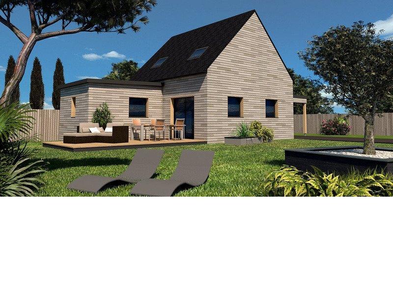 Maison+Terrain de 4 pièces avec 3 chambres à Saint Méloir des Ondes 35350 – 209690 € - MCHO-19-02-27-16