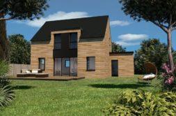 Maison+Terrain de 4 pièces avec 3 chambres à Chapelle du Lou 35360 – 216648 € - MCHO-20-01-02-57