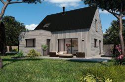 Maison+Terrain de 5 pièces avec 3 chambres à Chapelle du Lou  – 242158 € - MCHO-19-07-29-36