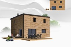 Maison+Terrain de 5 pièces avec 3 chambres à Ponlat Taillebourg 31210 – 164500 € - BJE-18-12-30-126