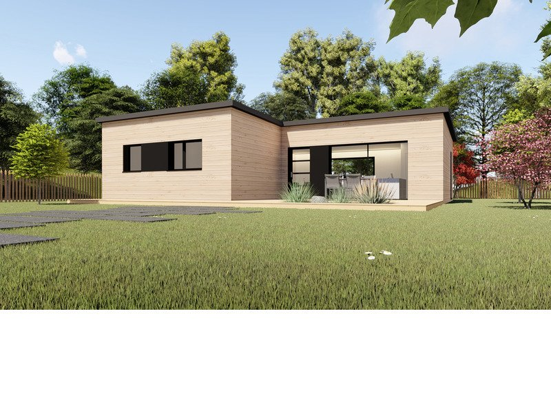 Maison+Terrain de 4 pièces avec 3 chambres à Pléneuf Val André  – 203384 € - YLM-19-08-01-23