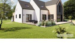 Maison+Terrain de 5 pièces avec 4 chambres à Bain de Bretagne 35470 – 340852 € - KBOU-19-12-30-120