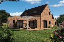 Maison+Terrain de 4 pièces avec 3 chambres à Servon sur Vilaine 35530 – 211046 € - KBOU-20-02-13-73
