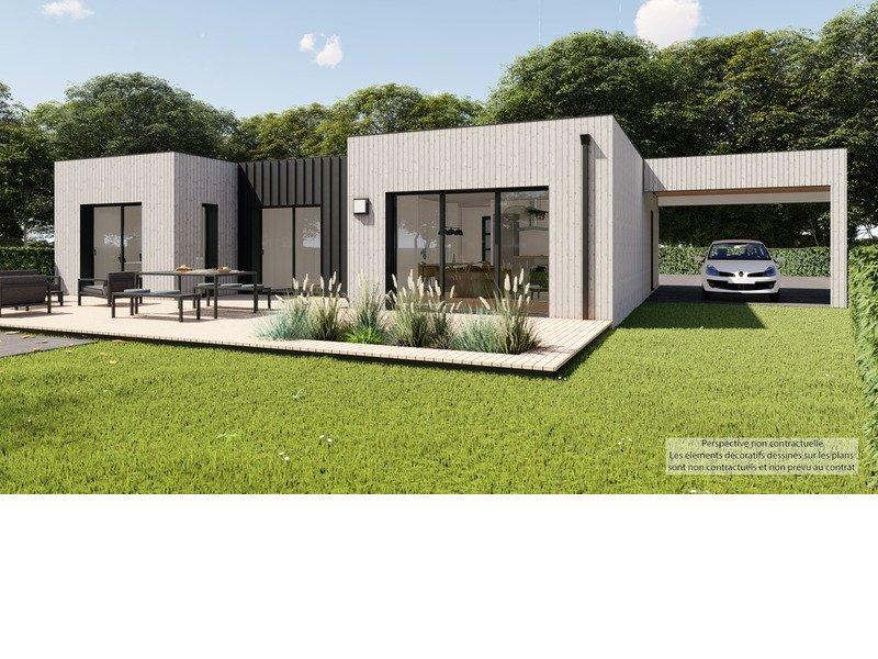 Maison+Terrain de 4 pièces avec 3 chambres à Chanteloup 35150 – 256824 € - KBOU-19-12-30-97