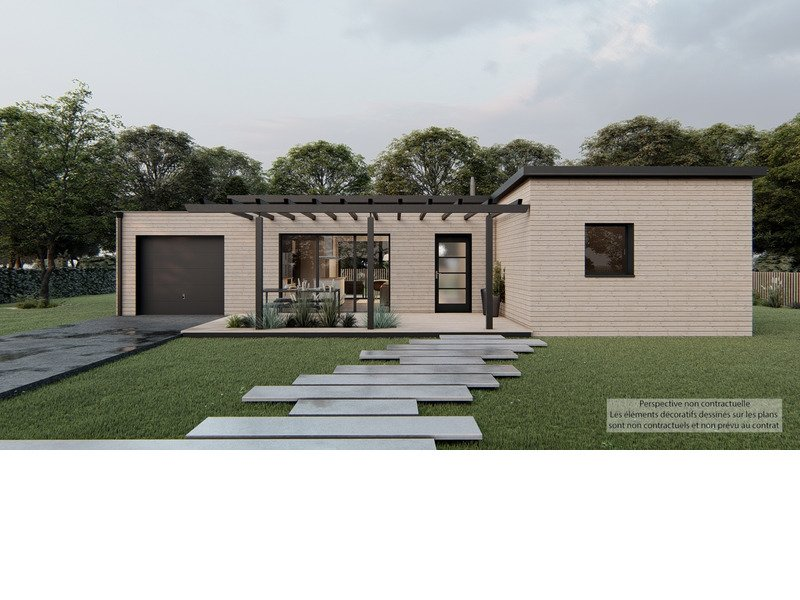 Maison+Terrain de 3 pièces avec 2 chambres à Lévignac 31530 – 286199 € - CLE-20-09-22-48