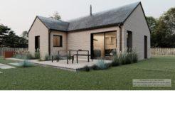 Maison+Terrain de 3 pièces avec 2 chambres à Quédillac 35290 – 161027 € - MCHO-21-03-31-63