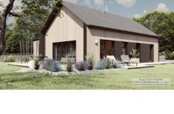 Maison+Terrain de 4 pièces avec 3 chambres à Lanvallay 22100 – 215038 € - KRIB-20-11-16-14