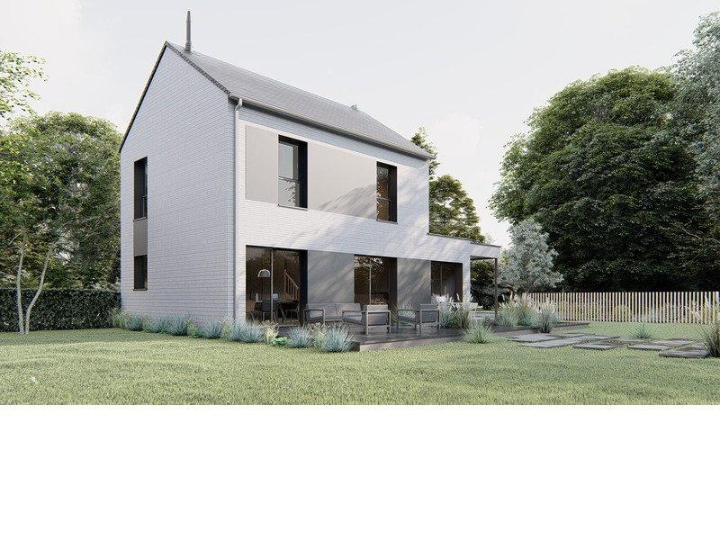 A Vendre Maison Bois Terrain 5 Pieces 94 M Sur Terrain De 385 M A Montauban De Bretagne 35360 Trecobois