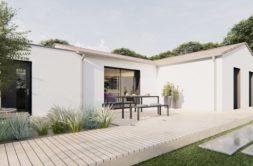 Maison+Terrain de 4 pièces avec 3 chambres à Cabariot 17430 – 190557 € - FMAS-21-03-03-2