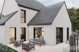 Maison+Terrain de 4 pièces avec 3 chambres à Tronchet 35540 – 448192 € - JBLB-21-04-14-3